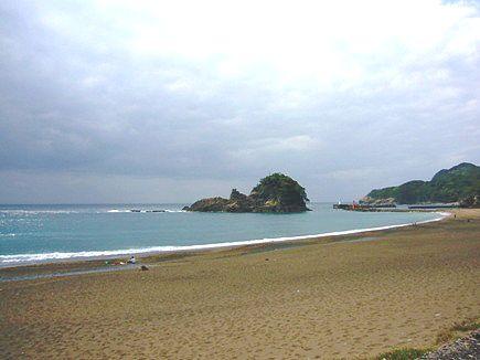 大浜海岸。