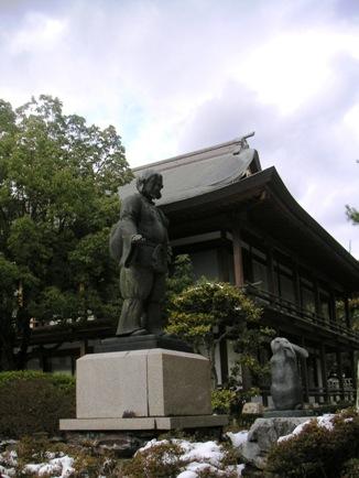 因幡の白兎の像