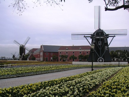 オランダ風な風景です。